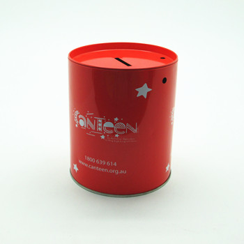 Tin Coin Bank U9312