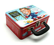 U7102 Handle Lunch Tin Box