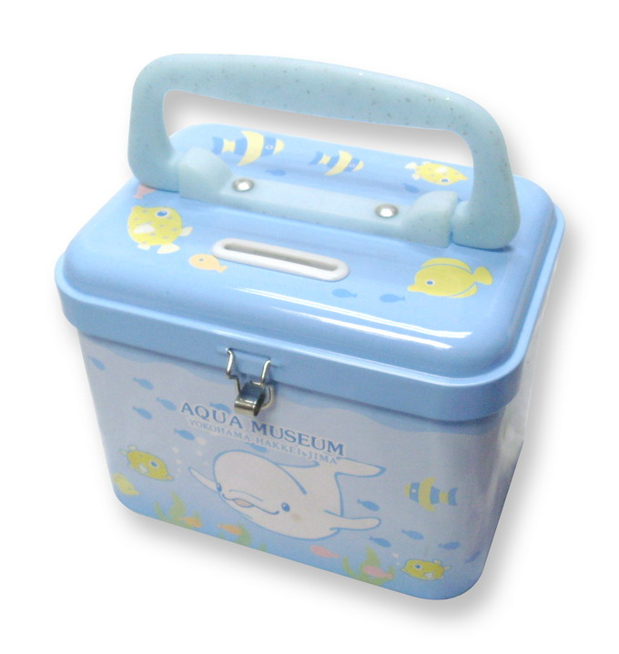 u7124 Tin Coin Bank