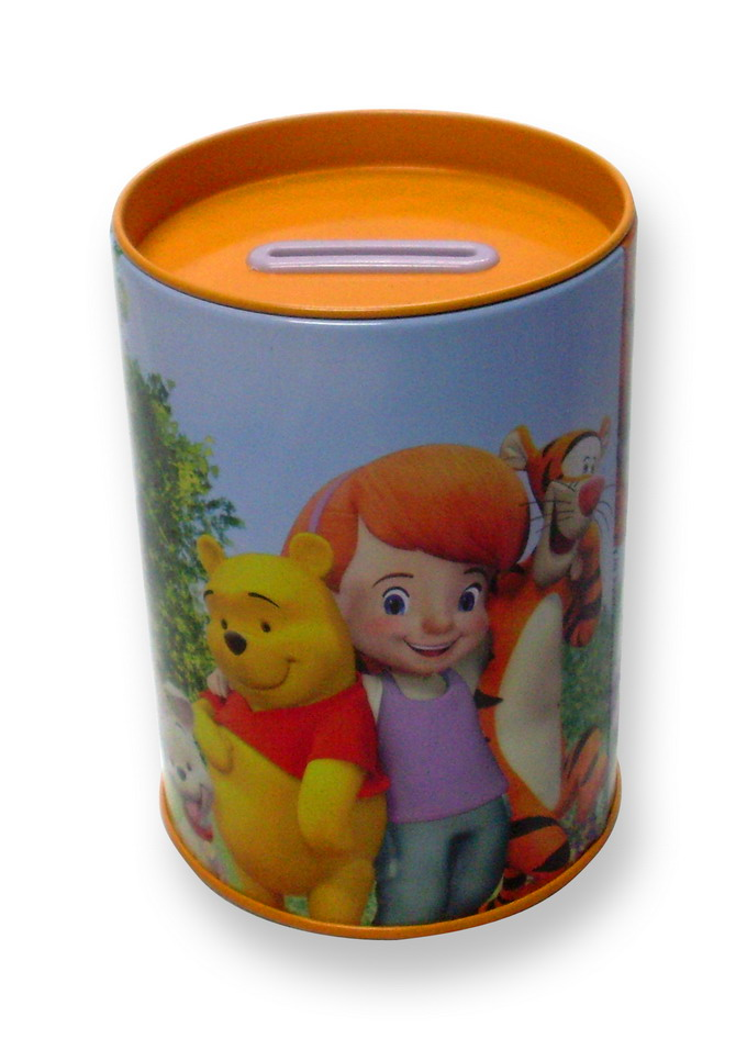 Tin Coin Bank u1263h4